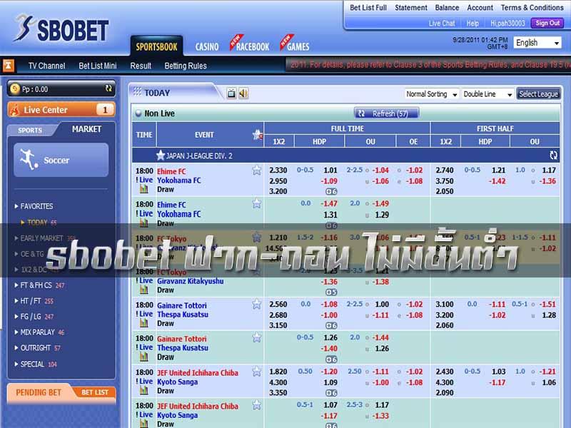 sbobetbank