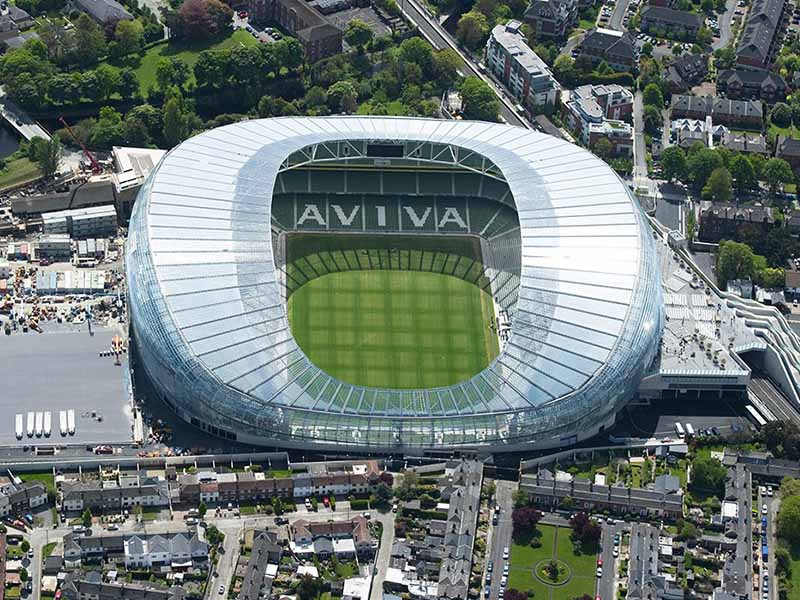 สนาม aviva stadium