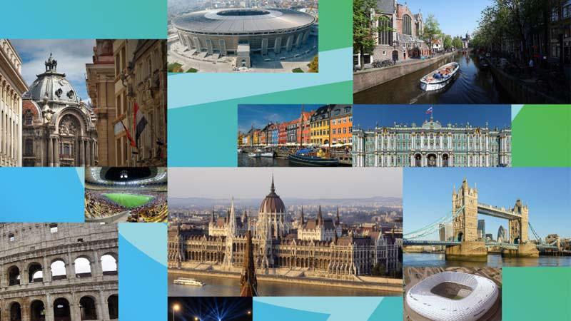 Cities Euro 2021